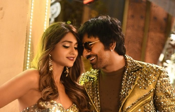 Stylish Mass Maha Raja and Navel Beauty in AAA!