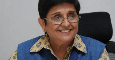 Kiran Bedi cautions against dumping garbage into drains